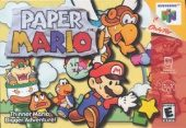 Box shot of Paper Mario [North America]