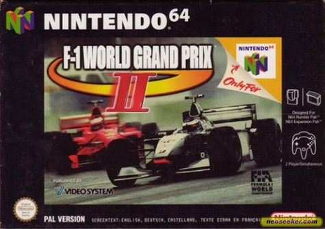 F-1 World Grand Prix II - N64 - PAL (Europe)