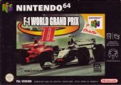 F-1 World Grand Prix II PAL (Europe) front boxshot