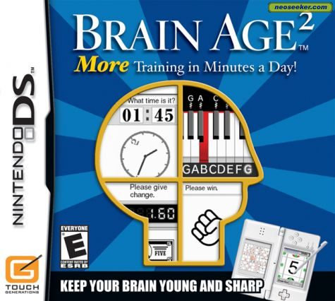 Brain Age 2: More Training in Minutes a Day - DS - NTSC-U (North America)