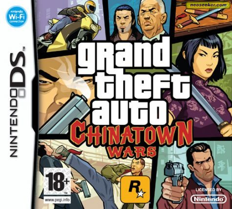 Grand Theft Auto: Chinatown Wars - DS - PAL (Europe)
