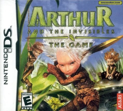 Arthur and the Invisibles - DS - NTSC-U (North America)