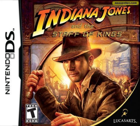 Indiana Jones and the Staff of Kings - DS - NTSC-U (North America)