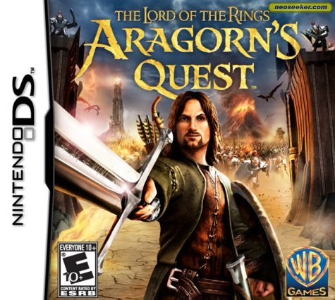 The Lord of the Rings: Aragorn's Quest  - DS - NTSC-U (North America)