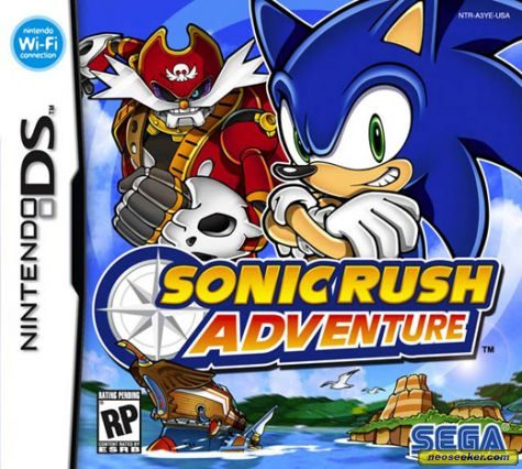 Sonic Rush Adventure - DS - NTSC-U (North America)