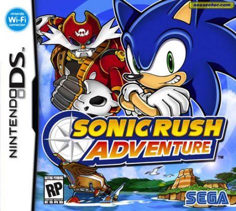 Sonic Rush Adventure - DS - NTSC-U (North America)