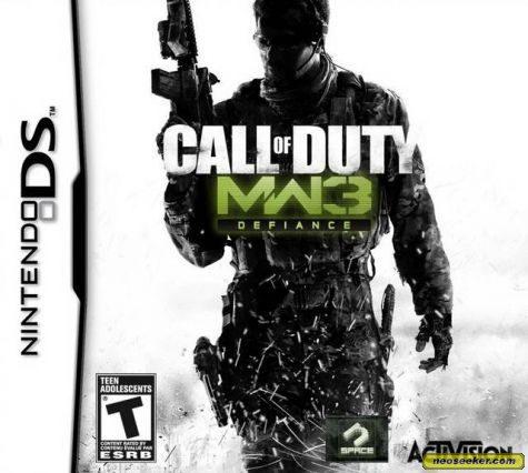 Call of Duty: Modern Warfare 3: Defiance - DS - NTSC-U (North America)