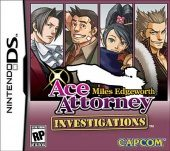 Box shot of Ace Attorney Investigations: Miles Edgeworth [North America]