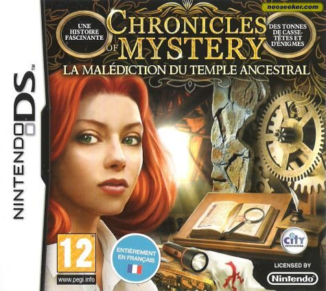 Chronicles of Mystery: Curse of the Ancient Temple - DS - PAL (Europe)