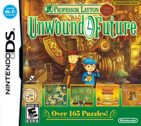 Professor Layton and the Unwound Future - DS - NTSC-U (North America)