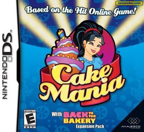Cake Mania - DS - NTSC-U (North America)
