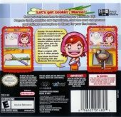 Cooking Mama NTSC-U (North America) back cover box shot