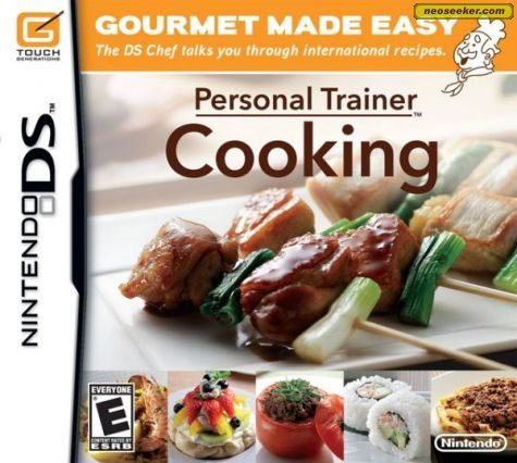 Personal Trainer: Cooking - DS - NTSC-U (North America)
