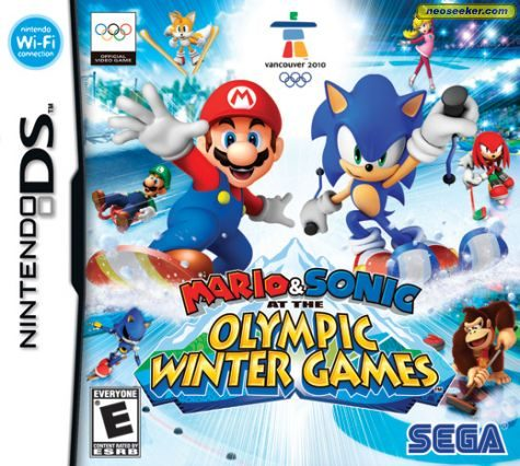Mario & Sonic at the Olympic Winter Games - DS - NTSC-U (North America)