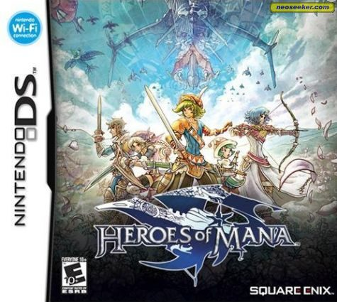 Heroes of Mana - DS - NTSC-U (North America)