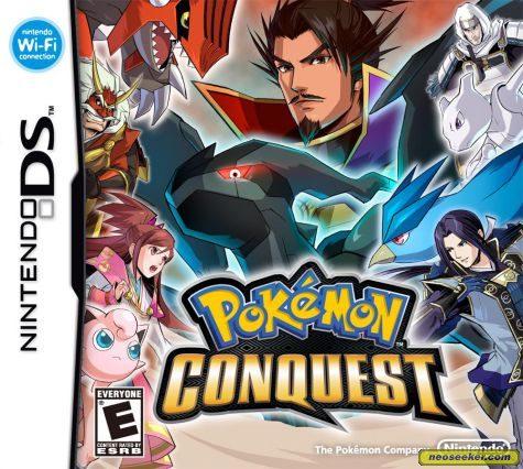 Pokémon Conquest - DS - NTSC-U (North America)
