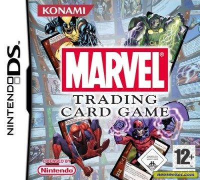 Marvel Trading Card Game - DS - PAL (Europe)