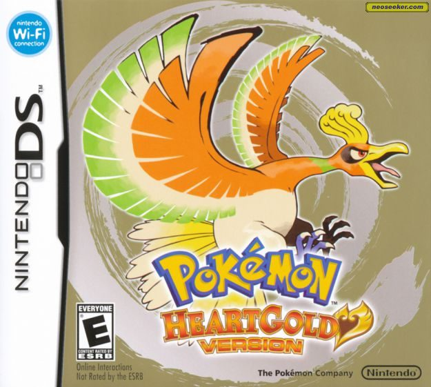 pokemon heart gold list