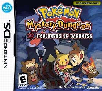 Pokémon Mystery Dungeon: Explorers of Darkness - DS - NTSC-U (North America)