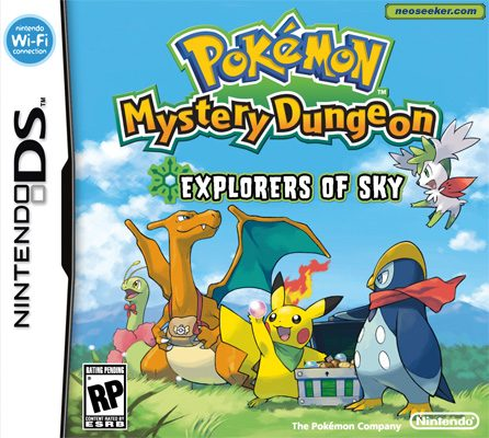 Pokémon Mystery Dungeon: Explorers of Sky - DS - NTSC-U (North America)