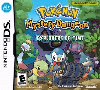 Pokémon Mystery Dungeon: Explorers of Time - DS - NTSC-U (North America)