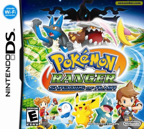 Pokémon Ranger: Shadows of Almia - DS - NTSC-U (North America)