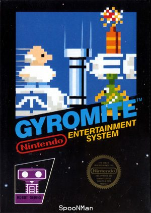 Gyromite - NES - NTSC-U (North America)
