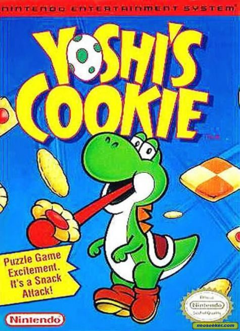 Yoshi's Cookie - NES - NTSC-U (North America)