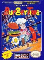 Box shot of Burgertime [North America]