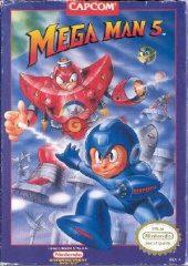 Box shot of Mega Man 5 [North America]
