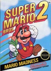 Box shot of Super Mario Bros. 2 [North America]