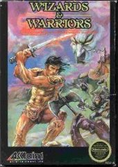 Box shot of Wizards & Warriors [North America]