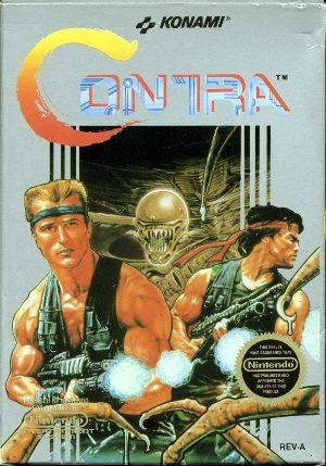 Contra - NES - NTSC-U (North America)