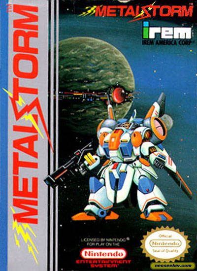 Metal Storm - NES - NTSC-U (North America)