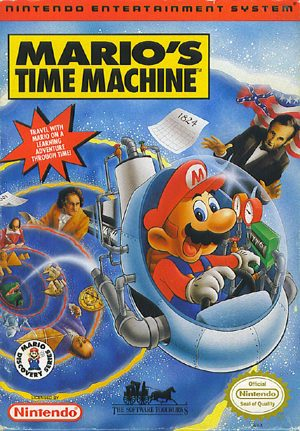 Mario's Time Machine - NES - NTSC-U (North America)