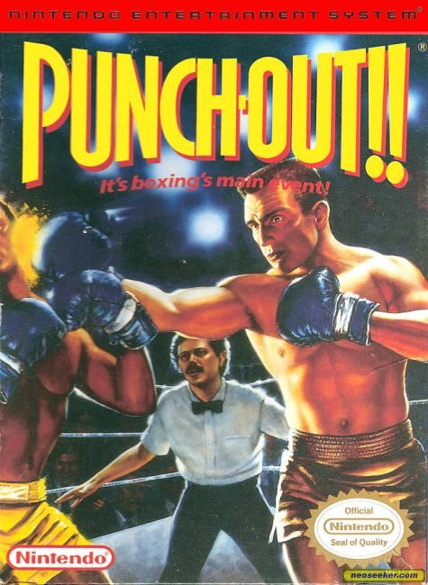 Punch-Out!! Featuring Mr. Dream - NES - NTSC-U (North America)