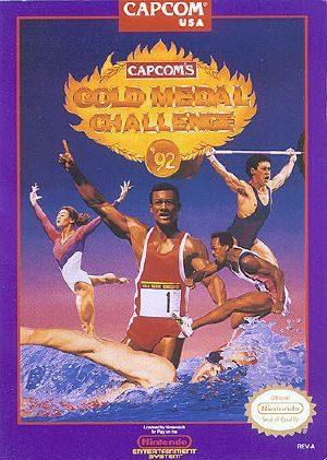 Gold Medal Challenge '92 - NES - NTSC-U (North America)