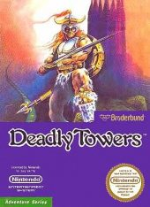 Box shot of Deadly Towers [North America]
