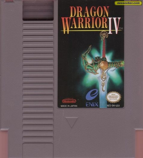 Dragon Warrior IV - NES - NTSC-U (North America)