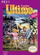 Box shot of Ultima: Exodus [North America]