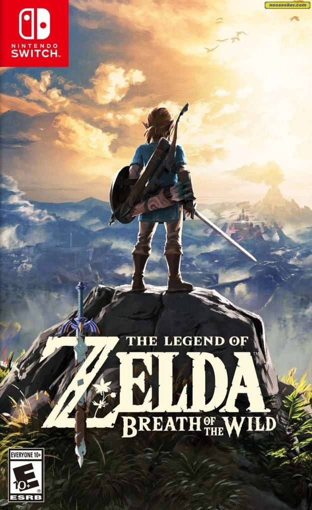 Image result for breath of the wild cover