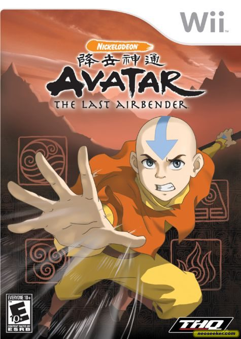 Avatar: The Last Airbender - Wii - NTSC-U (North America)