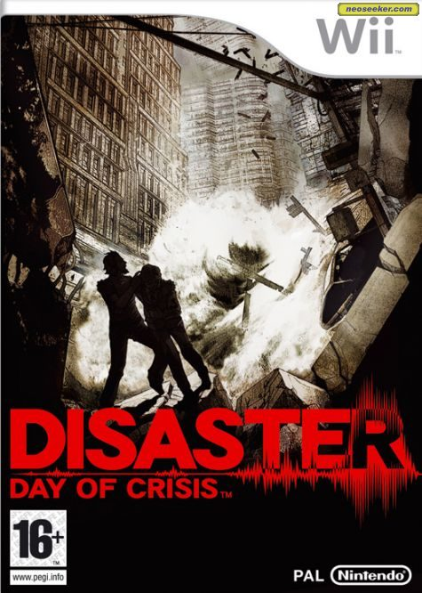 Disaster: Day of Crisis - Wii - PAL (Europe)