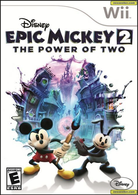 Disney Epic Mickey 2: The Power of Two - Wii - NTSC-U (North America)