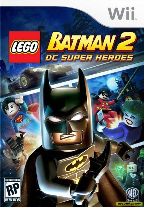 Lego Batman 2: DC Super Heroes - Wii - NTSC-U (North America)
