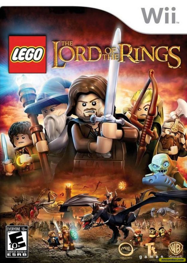 LEGO The Lord of the Rings - Wii - NTSC-U (North America)