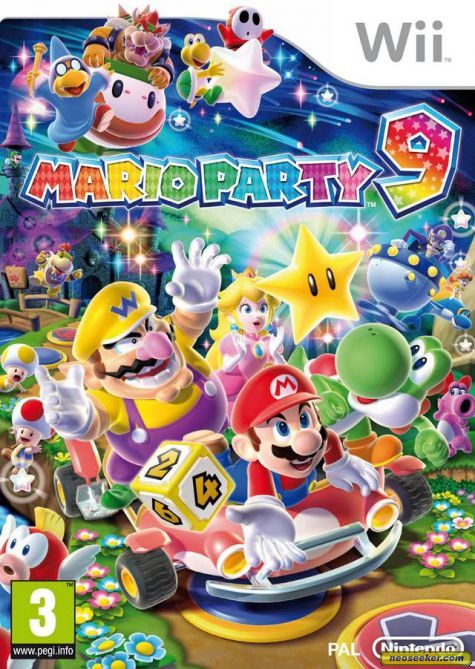 Mario Party 9 - Wii - PAL (Europe)