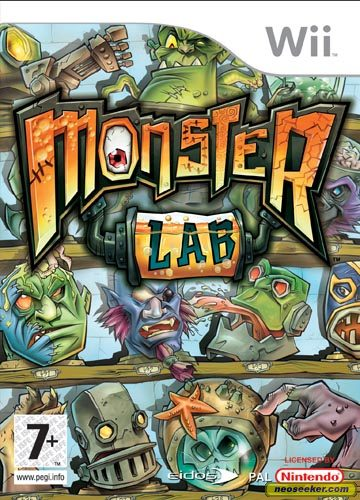 Monster Lab - Wii - PAL (Europe)