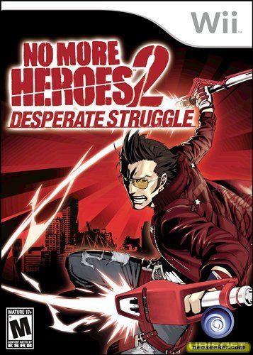 No More Heroes 2:  Desperate Struggle - Wii - NTSC-U (North America)