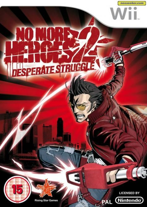 No More Heroes 2:  Desperate Struggle - Wii - PAL (Europe)